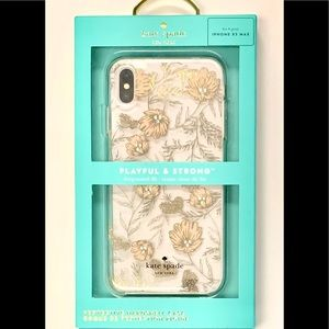 Kate Spade Floral Print Case for iPhone XS Max